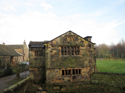 Gatehouse at Kirklees Priory in Clifton, West Yorkshire
