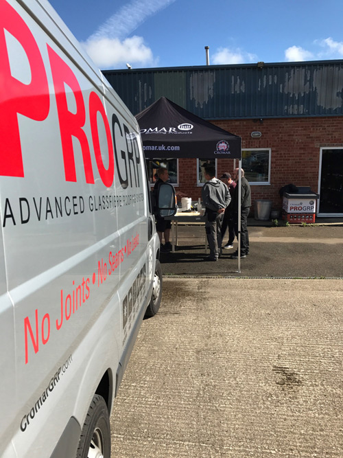 GB Plastics is holding a Cromar GRP installation training day for builders and roofers at its Banbury branch on July 10.