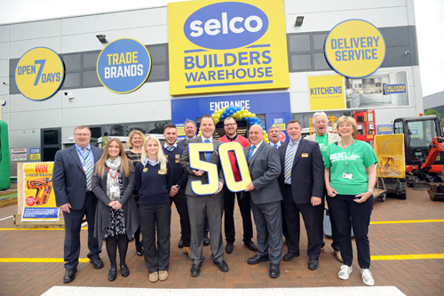 Selco is proud to open its 50th branch in Guildford