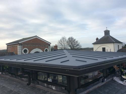 An IKO Polymeric Green roof