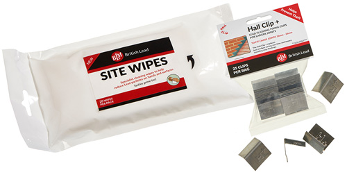 Site Wipes and Hall Clip +