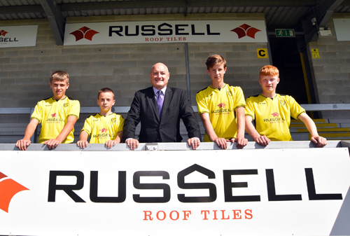 From left to right is Ryan Hardy, JonJo Power, Andrew Hayward, Luke Redfern, Kyle Sharp