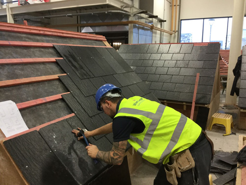 Cembrit Leeds The Way At College Building Roofing