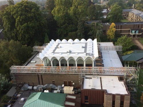 Iconic Brutalist Gem Preserved Roofing Cladding
