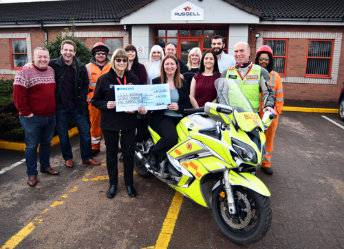 Sky S The Limit For Blood Bikes Roofing Cladding