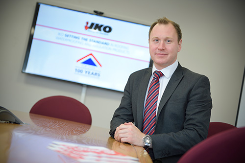 Ashley Chivers, roofing specification sales director
