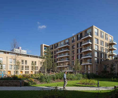 Pura has supplied natural cladding products to Hallsville Quarter, a major mixed used development in Canning Town, London.