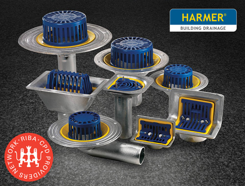 The new CPD from Harmer Drainage: 'Internal Rainwater Drainage – Design and Specification'
