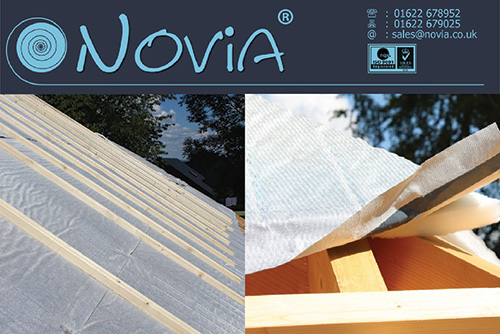 New Aluthermo Roofreflex Underlay From Novia Roofing