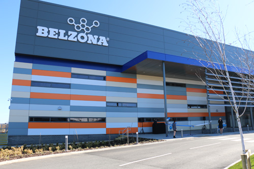The new state-of-the-art Belzona training and distribution centre
