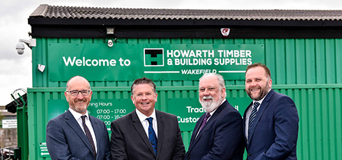 Howarth Timber Expands Its Senior Team Roofing Cladding