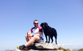 Actis specification manager Dan Anson-Hart is tackling the Three Peaks Challenge to raise £2,500 to fund treatment to save his friend's eyesight.