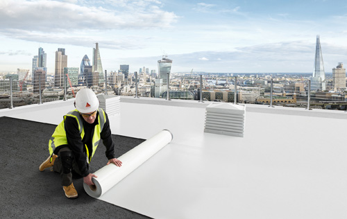 Sika Sarnafil has launched a 'peel and stick' self-adhered single ply membrane that does not require a primer.