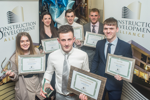 Winners of the Construction Development Alliance Young Professionals Awards