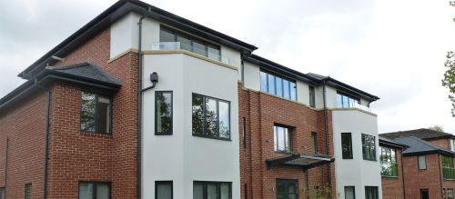 ARP's Sentinel Beaded Half Round Gutter and Colonnade Flushjoint Rainwater Pipe was fitted at Arlington Avenue