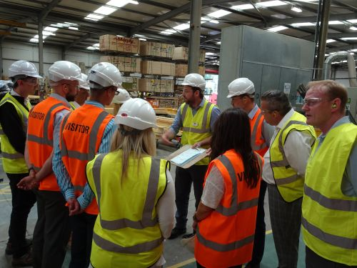Pasquill gave its customers a tour of its new and improved Redhill branch