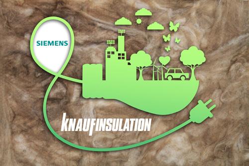 Siemens and Knauf Insulation strengthen sustainability