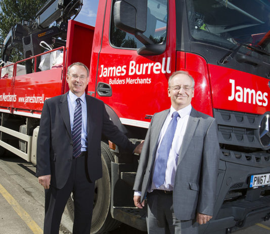 L-r: Stephen and Mark Richardson of James Burrell have announced a new £2 million site to open in Rotherham
