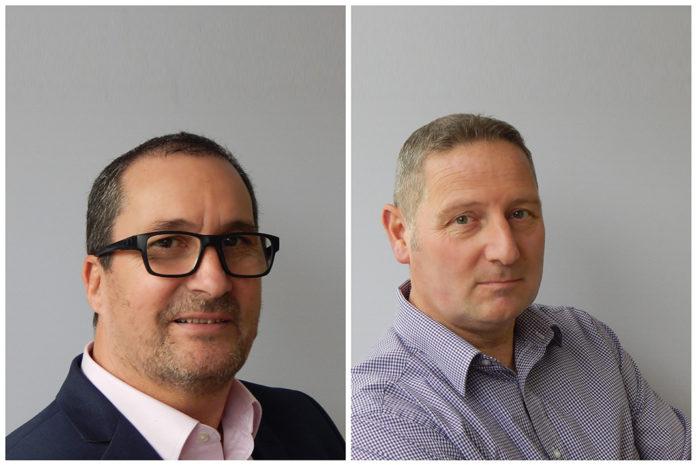 L-r: Deceuninck's sales director Chris Jones and operations director Darren Woodcock