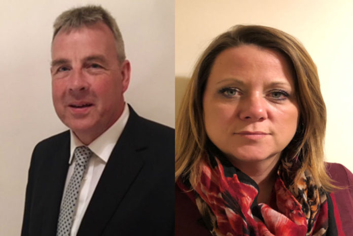 Kevin Lee and Laura Katon are the latest recruits to join Recticel