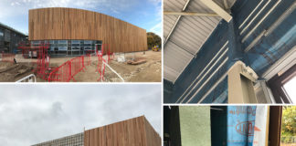 Tyvek AirGuard Control, Tyvek Housewrap breather membrane, Tyvek Double-sided Tape and Tyvek FlexWrap EX tape have been installed at the new John Taylor Free School to ensure the airtightness of the building envelope.