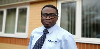 Moses Adelowokan is the third regional specification manager to join Flex-R
