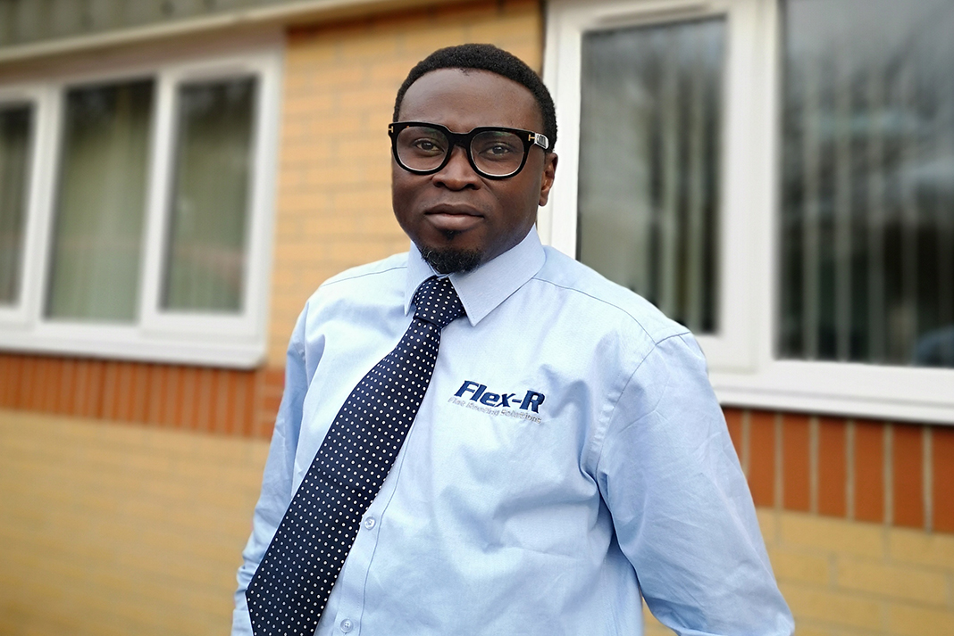e0d0a149488059 Moses Adelowokan is the third regional specification manager to join Flex-R