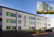 The Heath School has received a new 9,515 m2 three-storey block insulated with Kingspan products.
