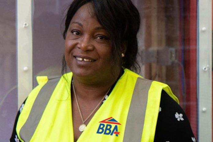 Oriola Davies, construction product certification specialist at the BBA, has relocated to Dublin to help establish BBA EU