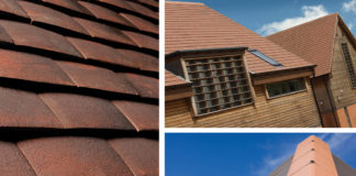 20/20 Tuscan interlocking clay plain tiles