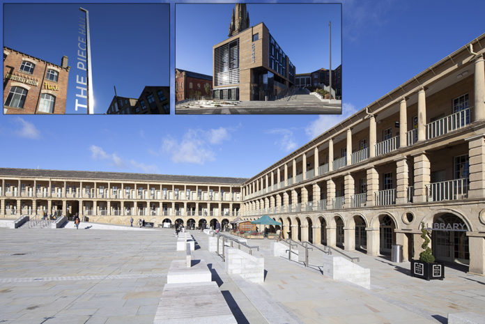 A range of Kingspan Insulation products have been installed as part of the refurbishment of the prestigious Piece Hall in Hallifax
