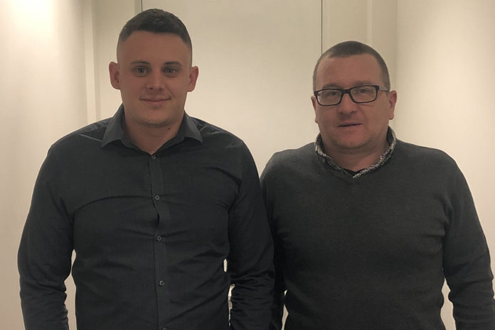 Left to right: George Guard and Dan Walker