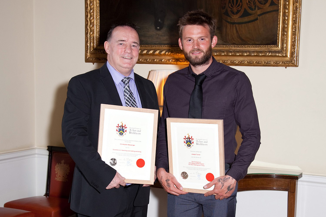 College Tutor Gains First Of Its Kind Roofing Award