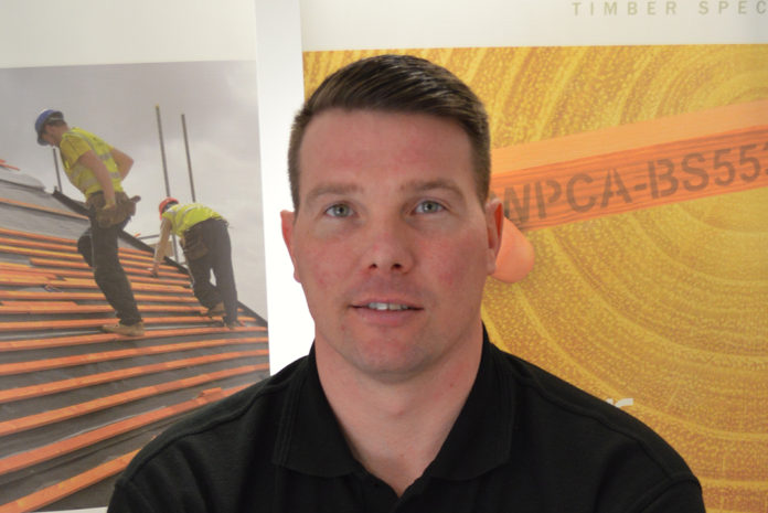 Mark Parkes has joined SR Timber as its new trading manager