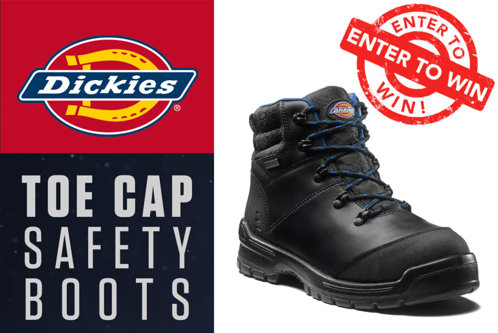 2e9ef73f95b Win a pair of Cameron Safety Boots from Dickies Workwear | Roofing ...