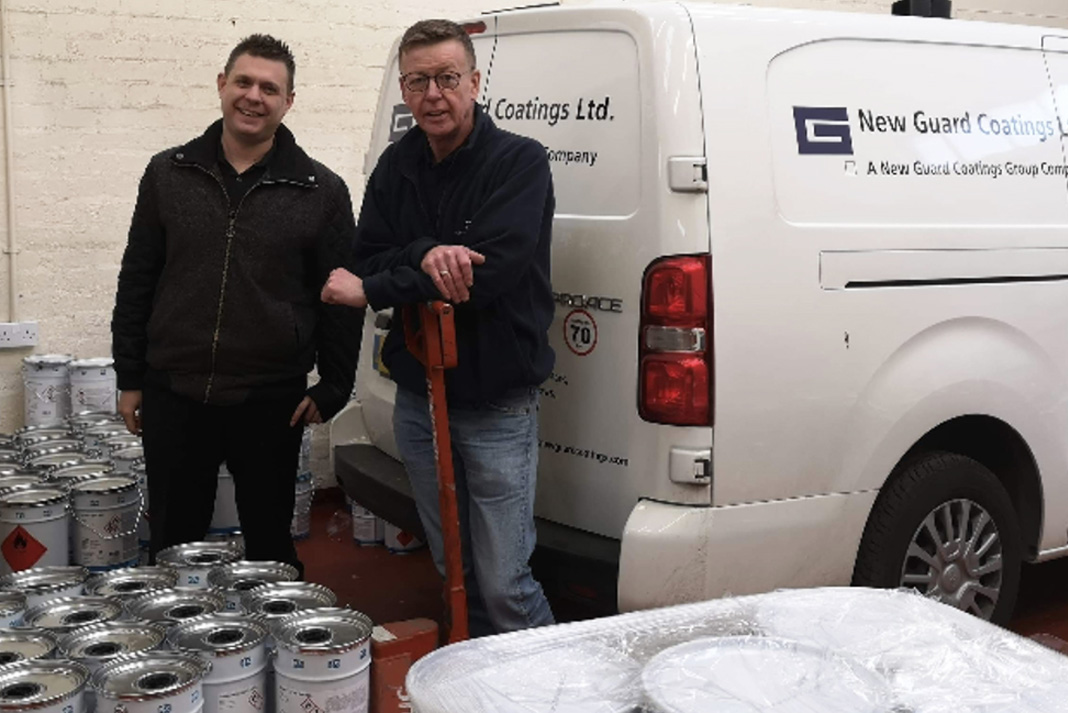 New Guard Coatings Group Expand Into Scotland Roofing