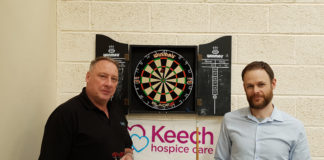 Winners - Kevin Stanley (left) and Tom Elwell