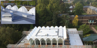 Fitzwilliam College in Cambridge has a newly refurbished roof thanks to an innovative Sika Sarnafil solution. The challenge was to effectively waterproof both the flat roof – which itself had plenty of challenging details – and scalloped areas.