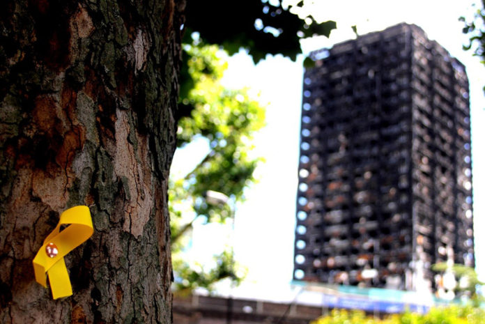 The Grenfell Tower in London
