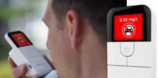 The AlcoSense Excel reusable home digital breathalyser