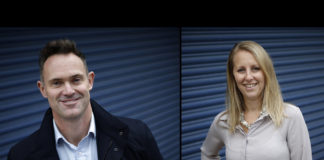 Company owners, Berenice and Daniel Northcott