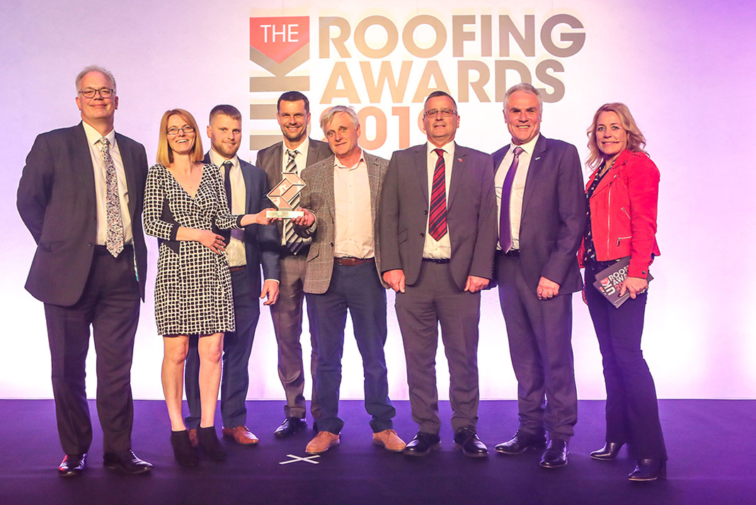 Sussex roofing company wins national roofing award   Roofing