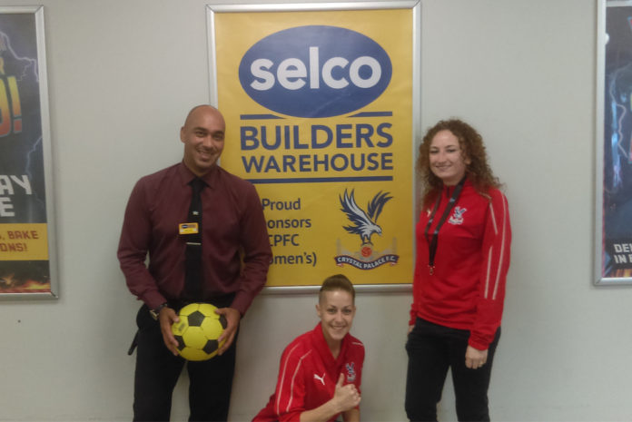 From left to right: Branch manager, Darrell Carter, with Nikita Whinnett and Jade Davenport