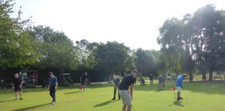 AJW Distribution raised £10,000 for The Phoenix Ward at Broomfield Hospital, at its recent charity golf day