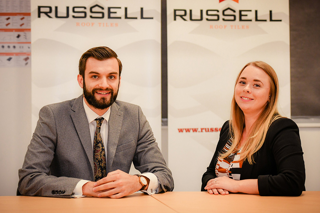Jade Joins Operations At Russells Roofing Cladding