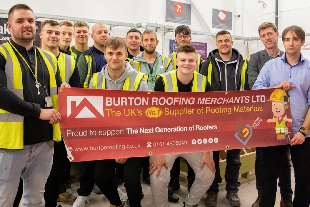 College Collaboration For Burton Roofing Roofing