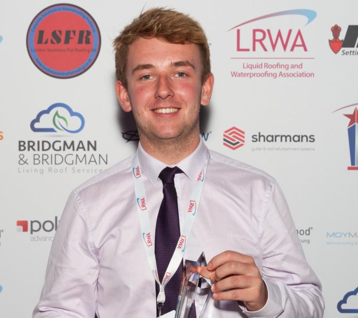 Jordan Page, a former LRWA Specialist Applied-Skills Programme trainee, has been shortlisted in the Construction Industry Training Board Apprenticeship Awards 2019.