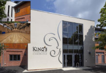 The Kingspan TEK Building System has been erected as part of the new Sports & Cultural Centre at King's College School.