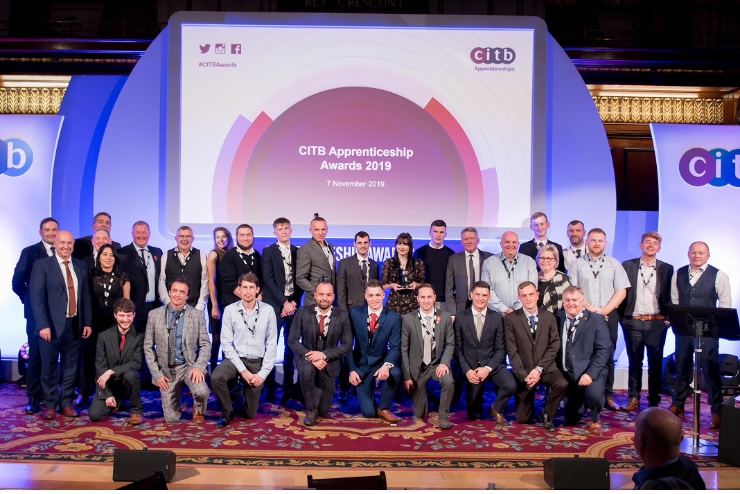 Success For 13 Winners At The Citb Apprenticeship Awards