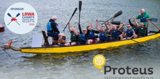 Proteus Waterproofing will be the headline sponsor of the LRWA Dragon Boat Regatta